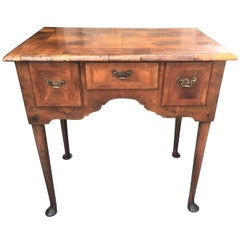 English Lacquer And Bamboo Victorian Dressing Table At 1stdibs