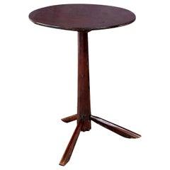 Walnut and Oak Side Table