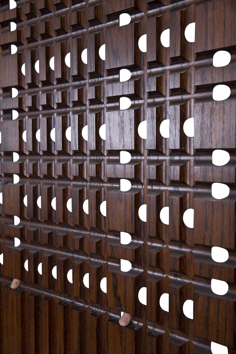 Walnut Architectural Panels In Good Condition For Sale In Phoenix, AZ
