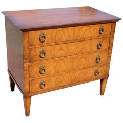 Walnut Bachelors Chest Mid-Century Modern