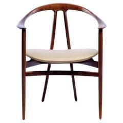 Walnut Bianca Arm Chair by Konekt Furniture