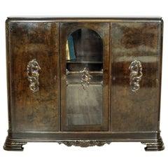 Walnut Bookcase, circa 1910-1920