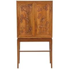 Walnut Cabinet by Anton Kildeberg