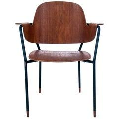 Walnut Chair, Danish Design, 1960s