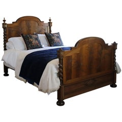 Walnut Chateau Bed, WK101