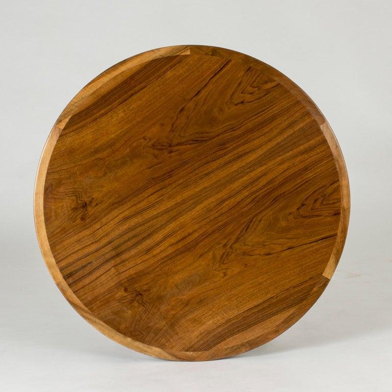 Danish Walnut Coffee Table by Ole Wanscher For Sale