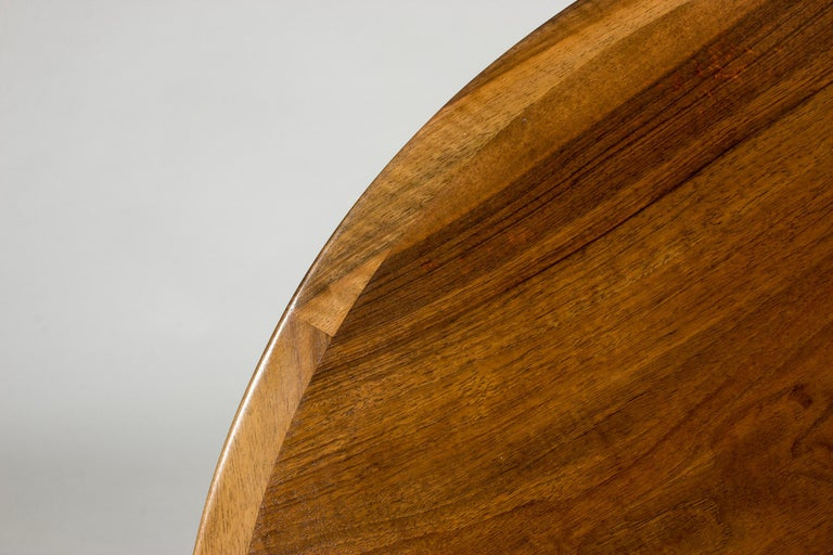 Walnut Coffee Table by Ole Wanscher In Good Condition For Sale In Stockholm, SE
