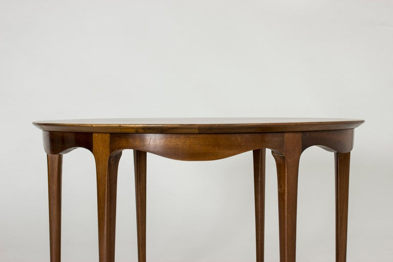 Mid-20th Century Walnut Coffee Table by Ole Wanscher For Sale