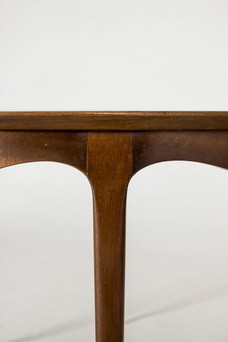 Walnut Coffee Table by Ole Wanscher For Sale 1
