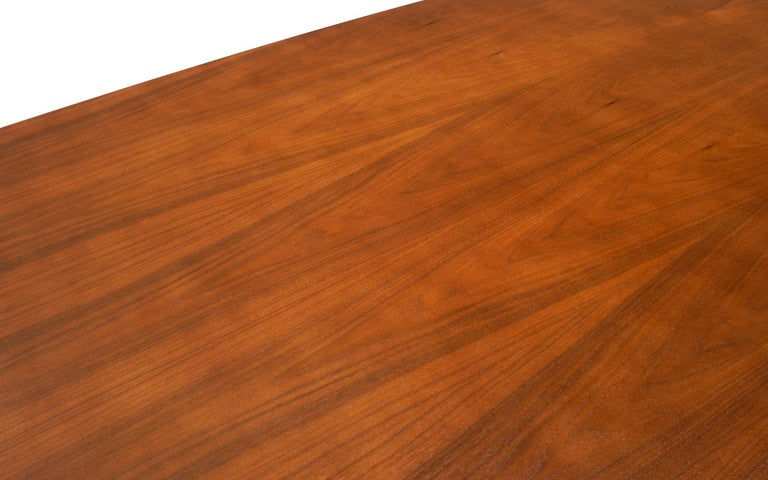 American Walnut Conference / Dining Table by Charles and Ray Eames for Herman Miller For Sale