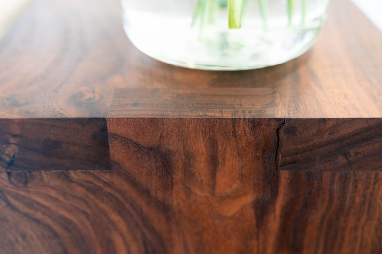 Walnut Console Table by Alabama Sawyer For Sale 2