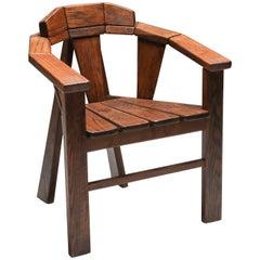 Walnut Craftsman Chair
