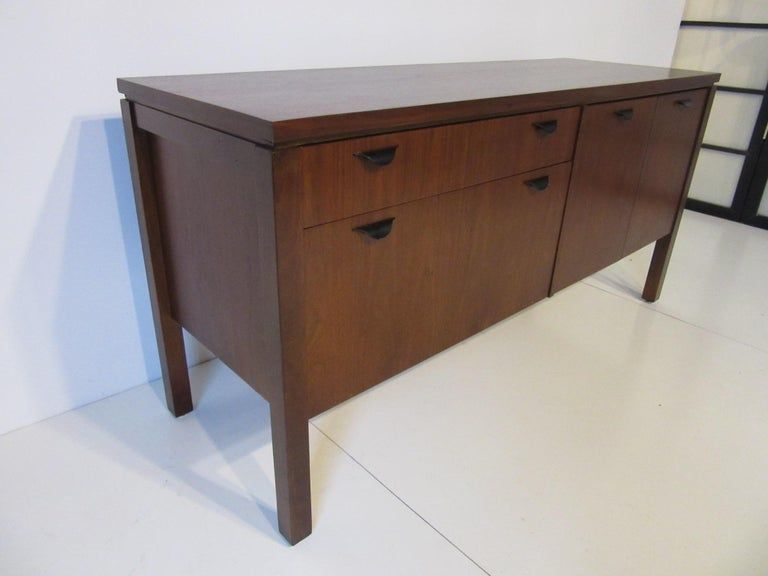 Walnut Credenza or Server in the Style of Jens Risom 3