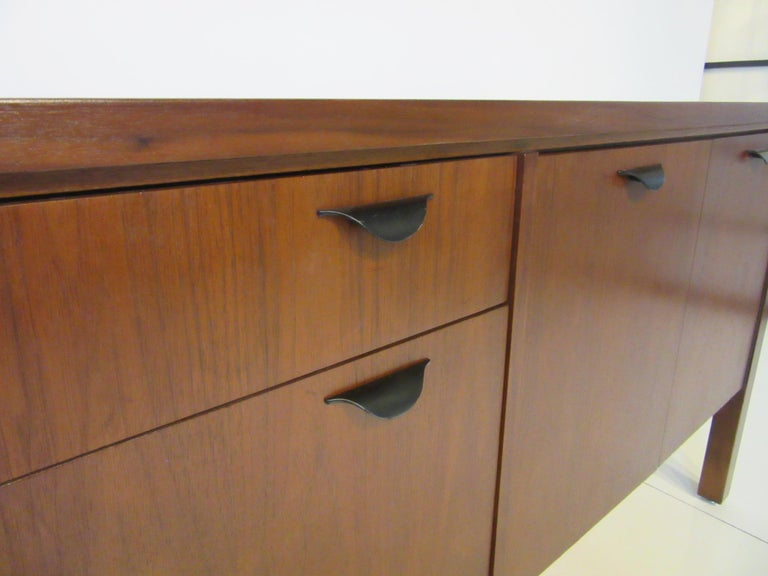 Walnut Credenza or Server in the Style of Jens Risom 6
