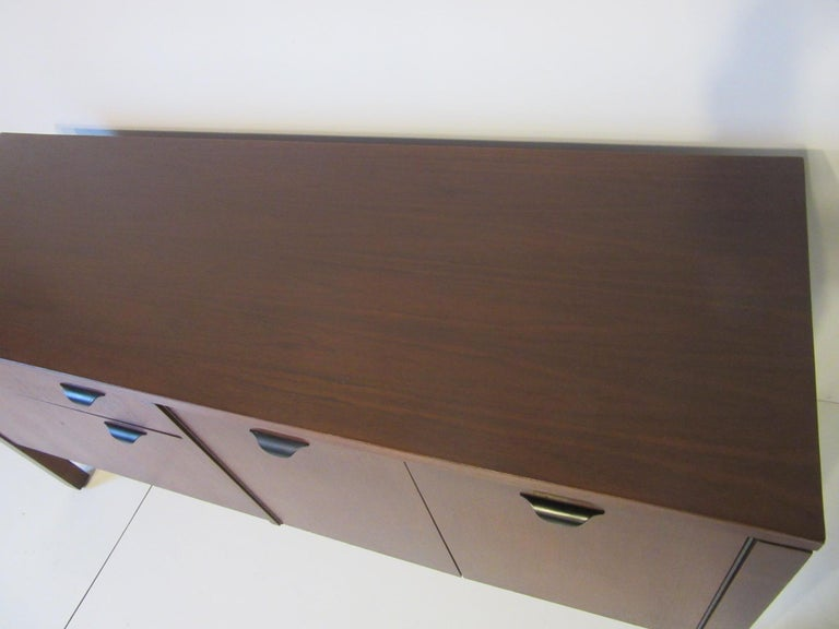 Walnut Credenza or Server in the Style of Jens Risom 7