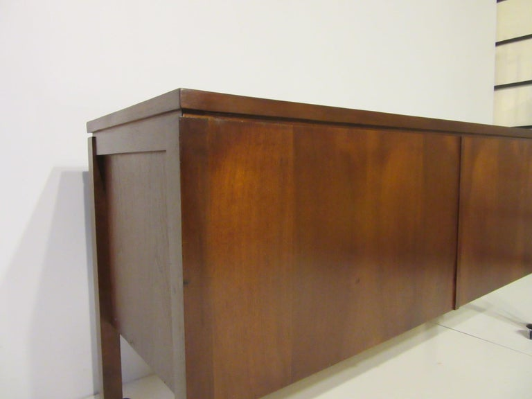 Walnut Credenza or Server in the Style of Jens Risom 8