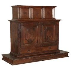 Walnut Cupboard, Italy, 17th Century