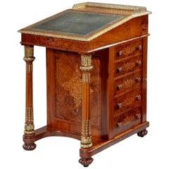 Walnut Davenport Desk