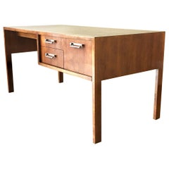 Walnut Desk by Baker, 1960s