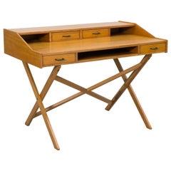 Walnut Desk by Gianfranco Frattini, 1956