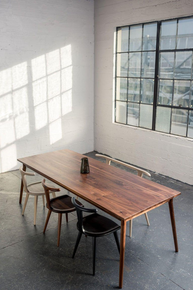 Walnut dining table by Fernweh Woodworking Dimensions:  W 36