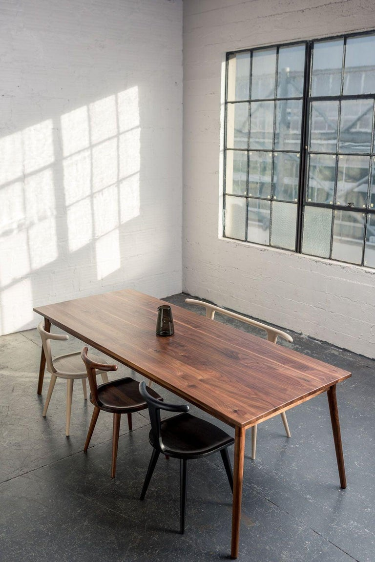 Walnut Dining Table by Fernweh Woodworking For Sale