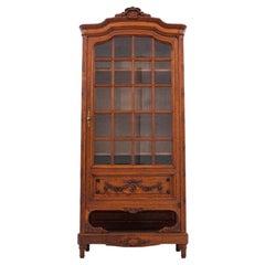 Walnut Display Case / Library, France, circa 1880