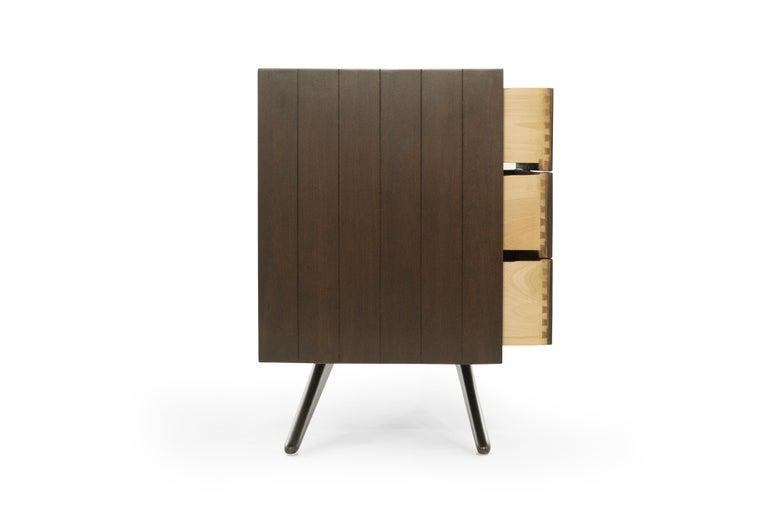20th Century Walnut Dresser by Vladimir Kagan for Grosfeld House, NY, circa 1950s For Sale