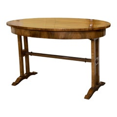Walnut Empire Style Centre Table