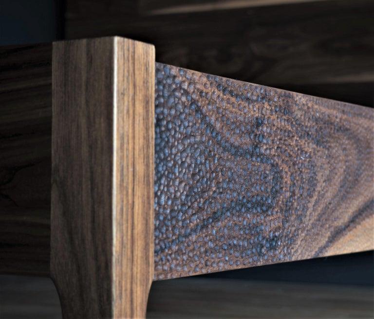 Walnussholz Bett von MSJ Furniture Studio 3