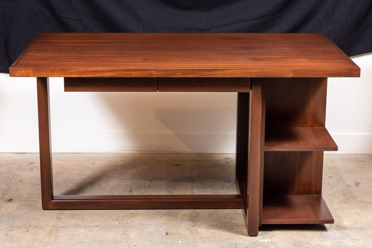 Walnut Ivanhoe Desk with Pencil Drawers by Lawson-Fenning For Sale 2
