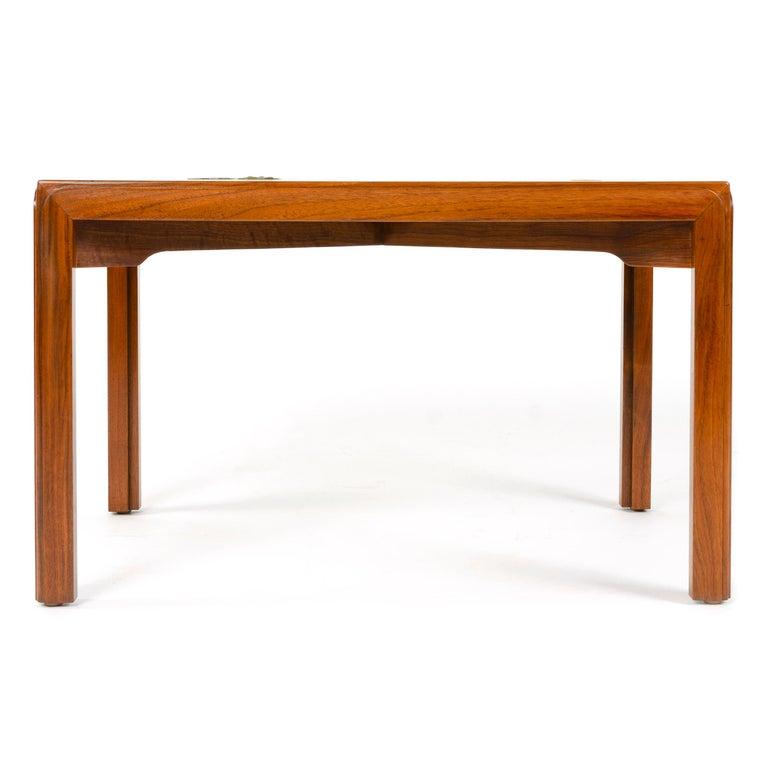 Mid-Century Modern Walnut 'Janus' End Table by Edward Wormley for Dunbar For Sale
