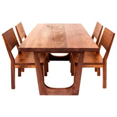 Walnut Lolita Dining Table, Customizable Wood