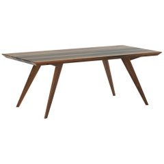 Walnut Minimalist 160 Dining Table