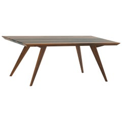 Walnut Minimalist 250 Dining Table