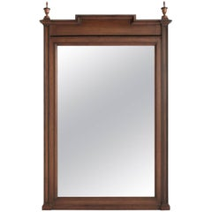 Walnut Mirror, England, circa 1880