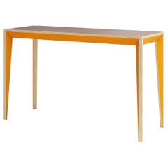 Walnut Orange MiMi Console or Tiny Desk by Miduny, Made in Italy