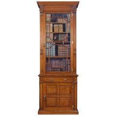 Walnut Pier Bookcase