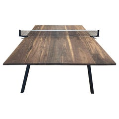 Walnut Ping Pong Table