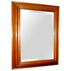 Walnut Rectangular Mirror