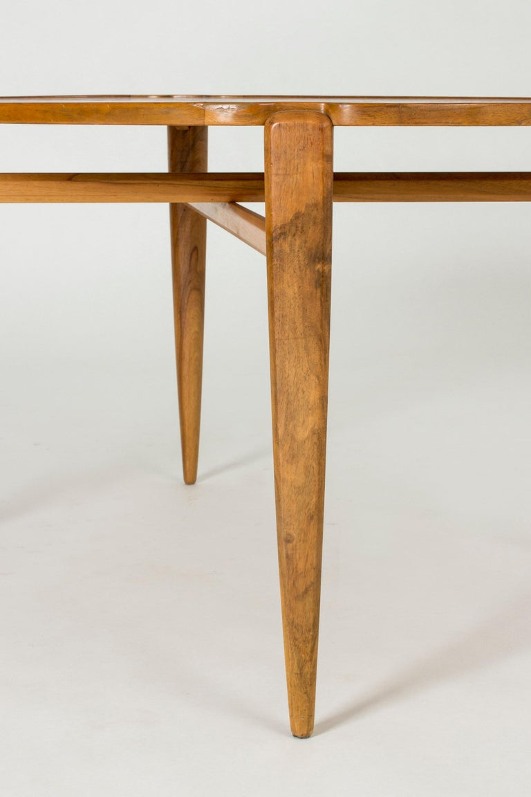 Walnut Root Coffee Table by Axel Larsson For Sale 4