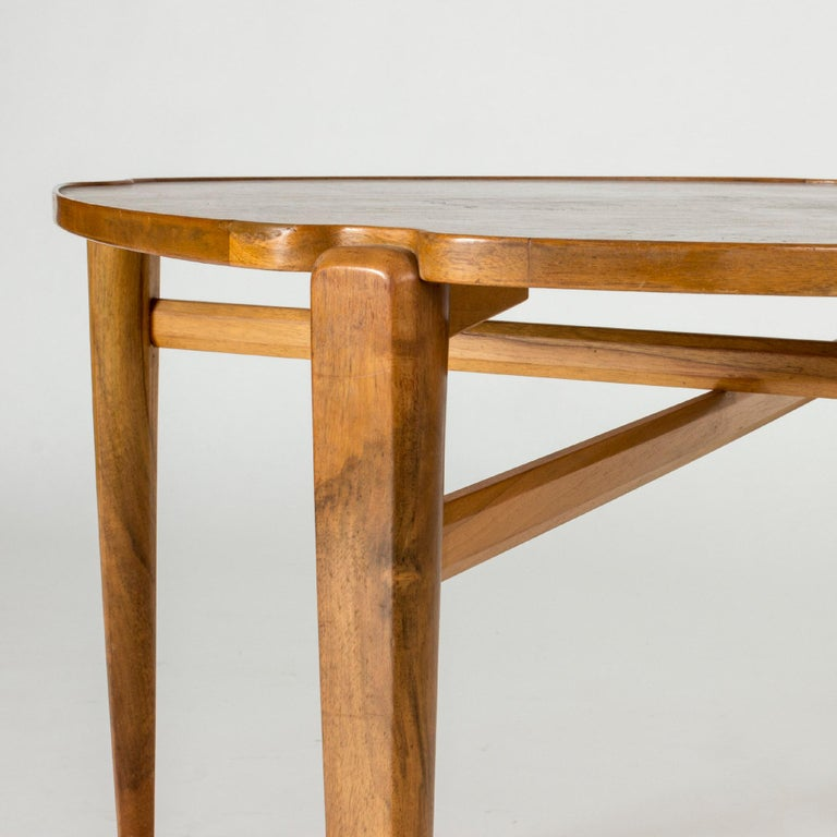 Walnut Root Coffee Table by Axel Larsson For Sale 2
