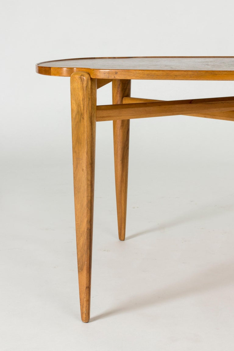 Walnut Root Coffee Table by Axel Larsson For Sale 3