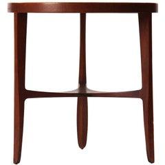 Walnut Side Table by Edward Wormley for Dunbar