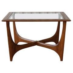 Walnut Side Table by Lane, USA, 1960s