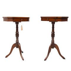 Walnut Side Tables England