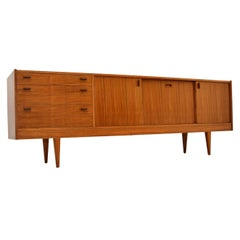 Walnut Sideboard by Alfred Cox Vintage, 1960's