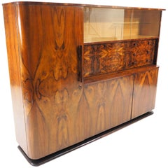 Walnut Sideboard by Jindřich Halabala for UP Závody, 1950s