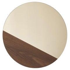Walnut Small Horizon Mirror by Hollis & Morris