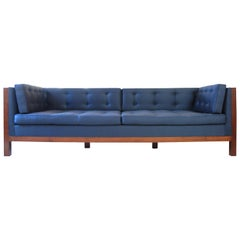 Walnut Sofa, Vica Designed by Annabelle Selldorf